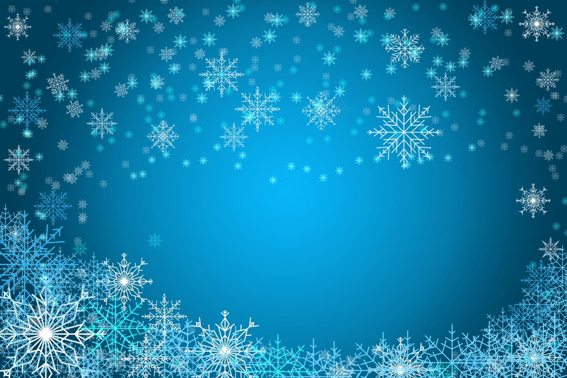 Snowflakes Brush Set - for Procreate example image 3