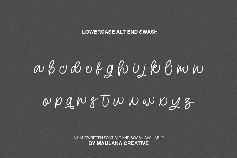 Hartwod Handwritten Font example image 10