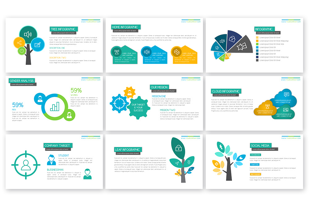Peppy Powerpoint Template example image 5