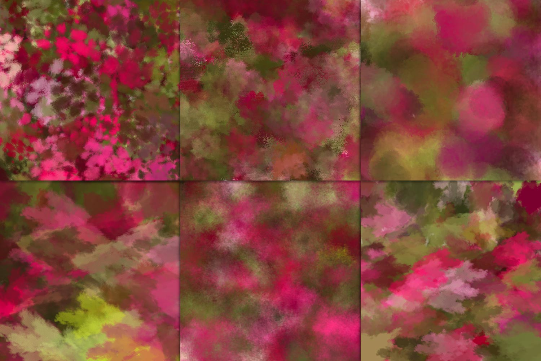Spring Bloom Digital Paper example image 3