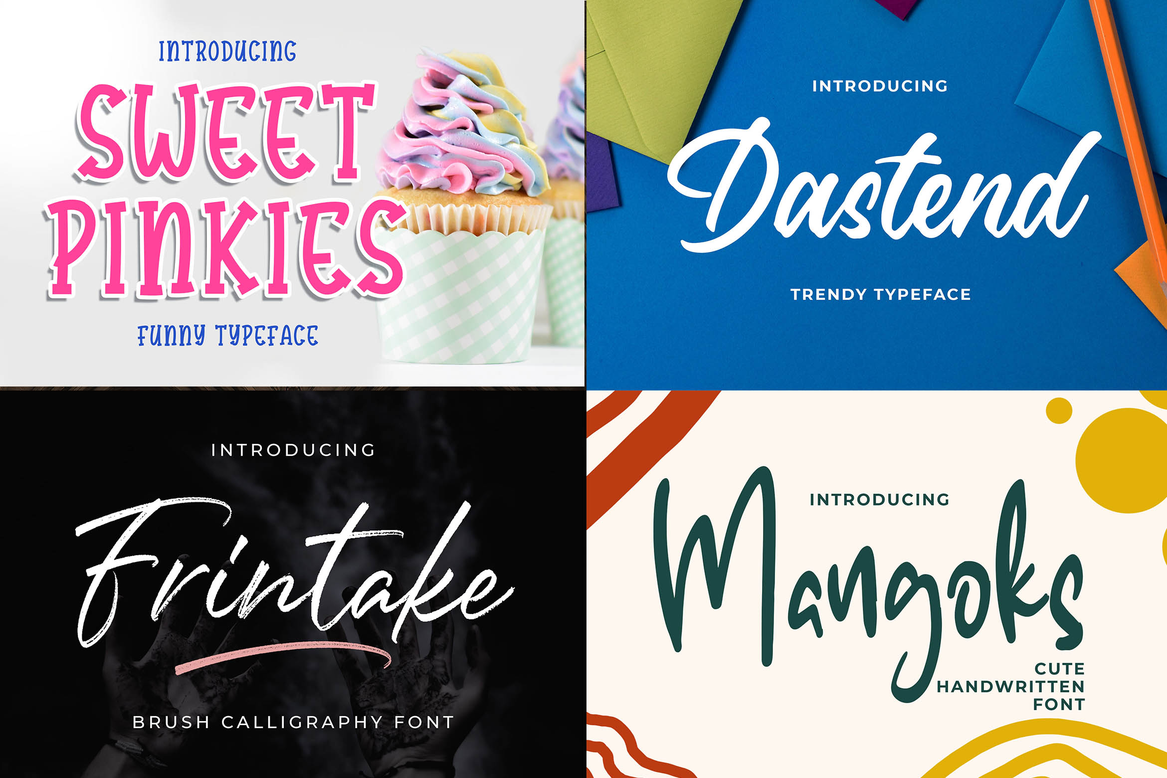 New Year Big Bundle - Crafting Fonts Collection example image 17