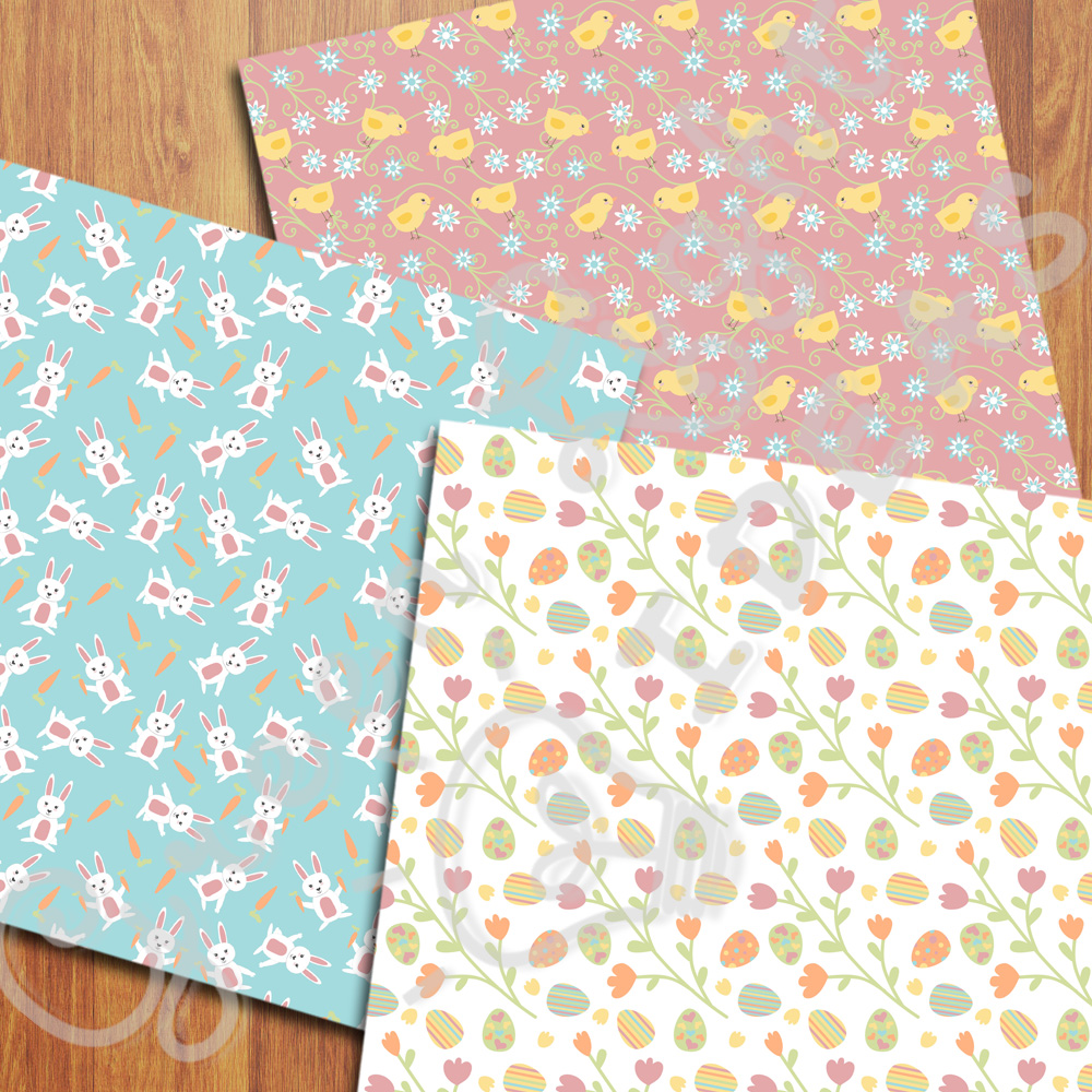 Easter Digital Papers example image 2