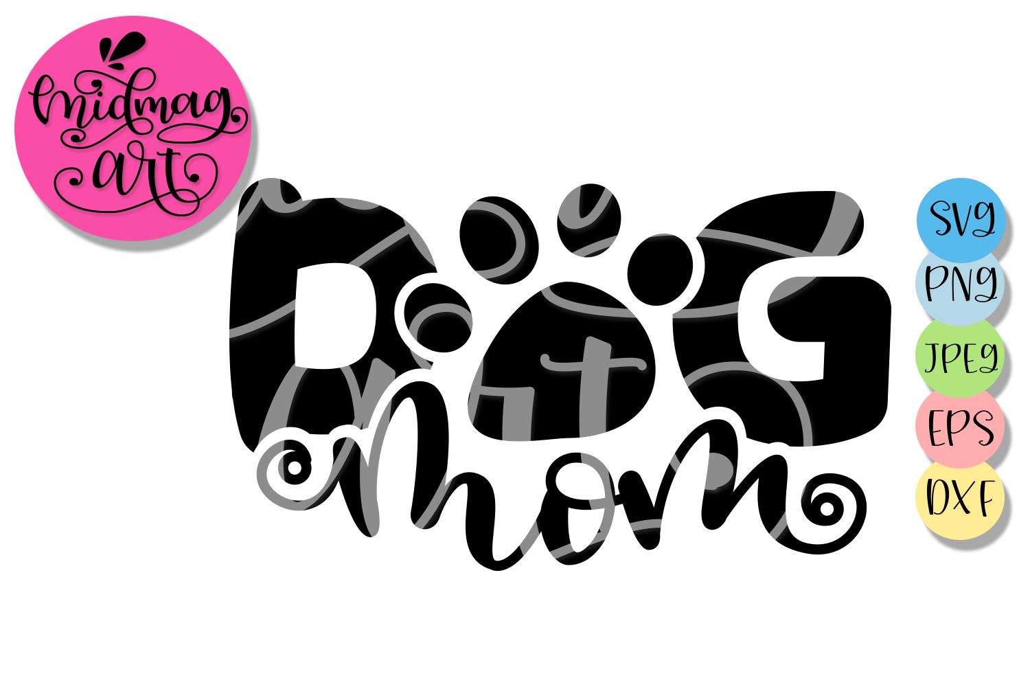 Dog mom svg, Mother's day svg example image 2