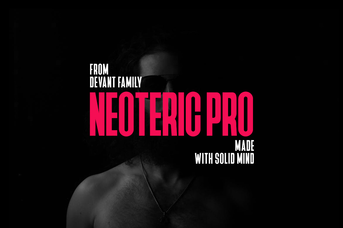 Devant Neoteric Pro Modern Font example image 3