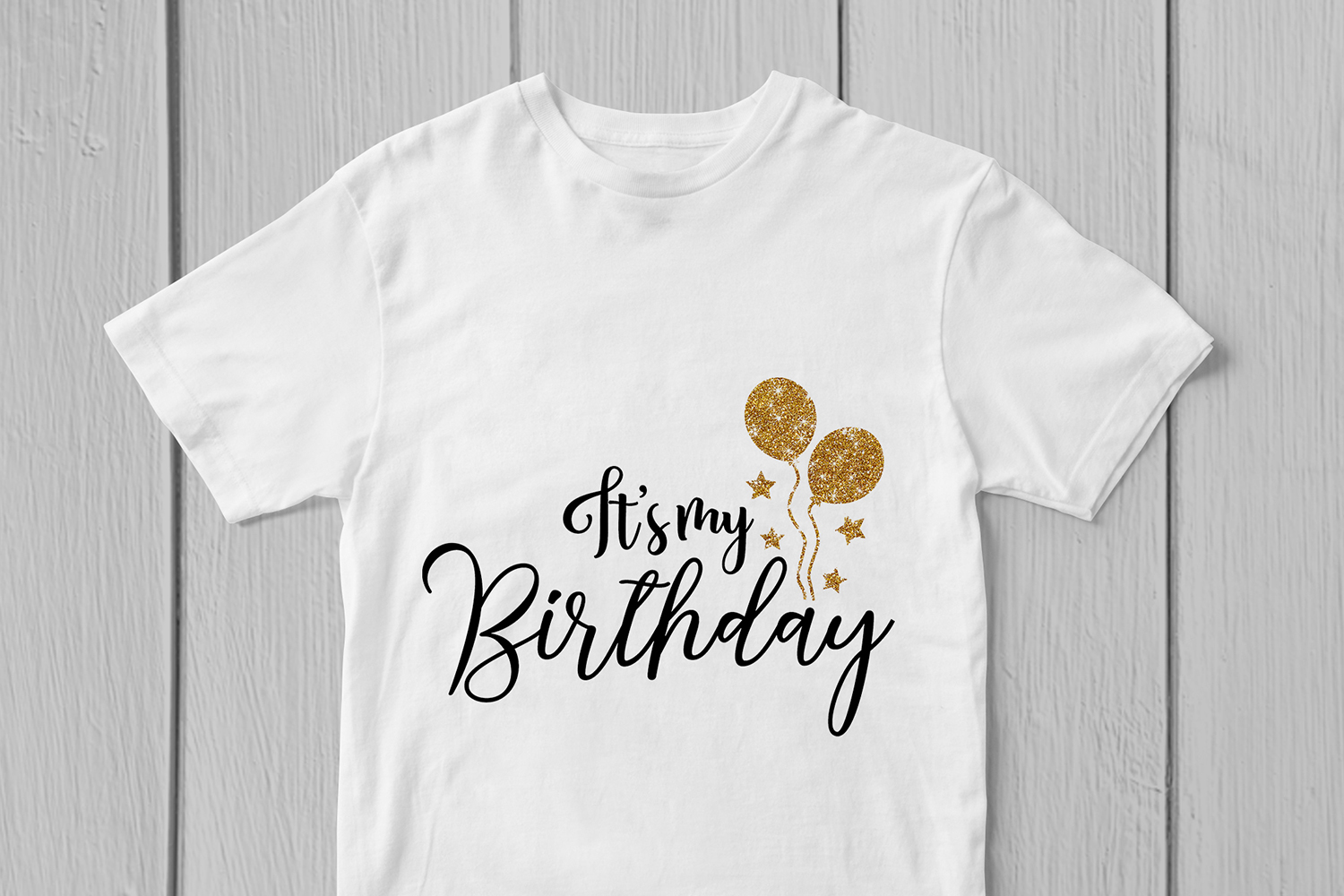 Its My Birthday - Birthday SVG EPS DXF PNG Cutting Files example image 3