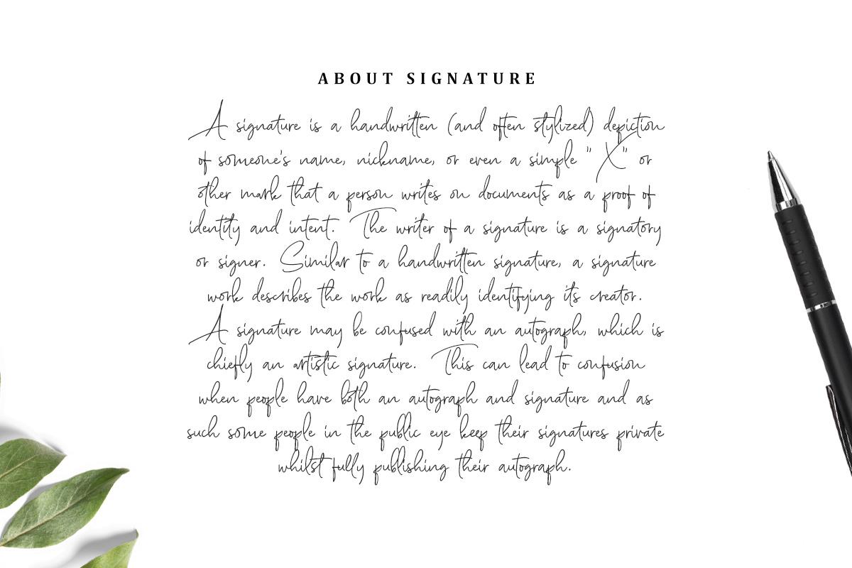 Scarlette Script example image 5