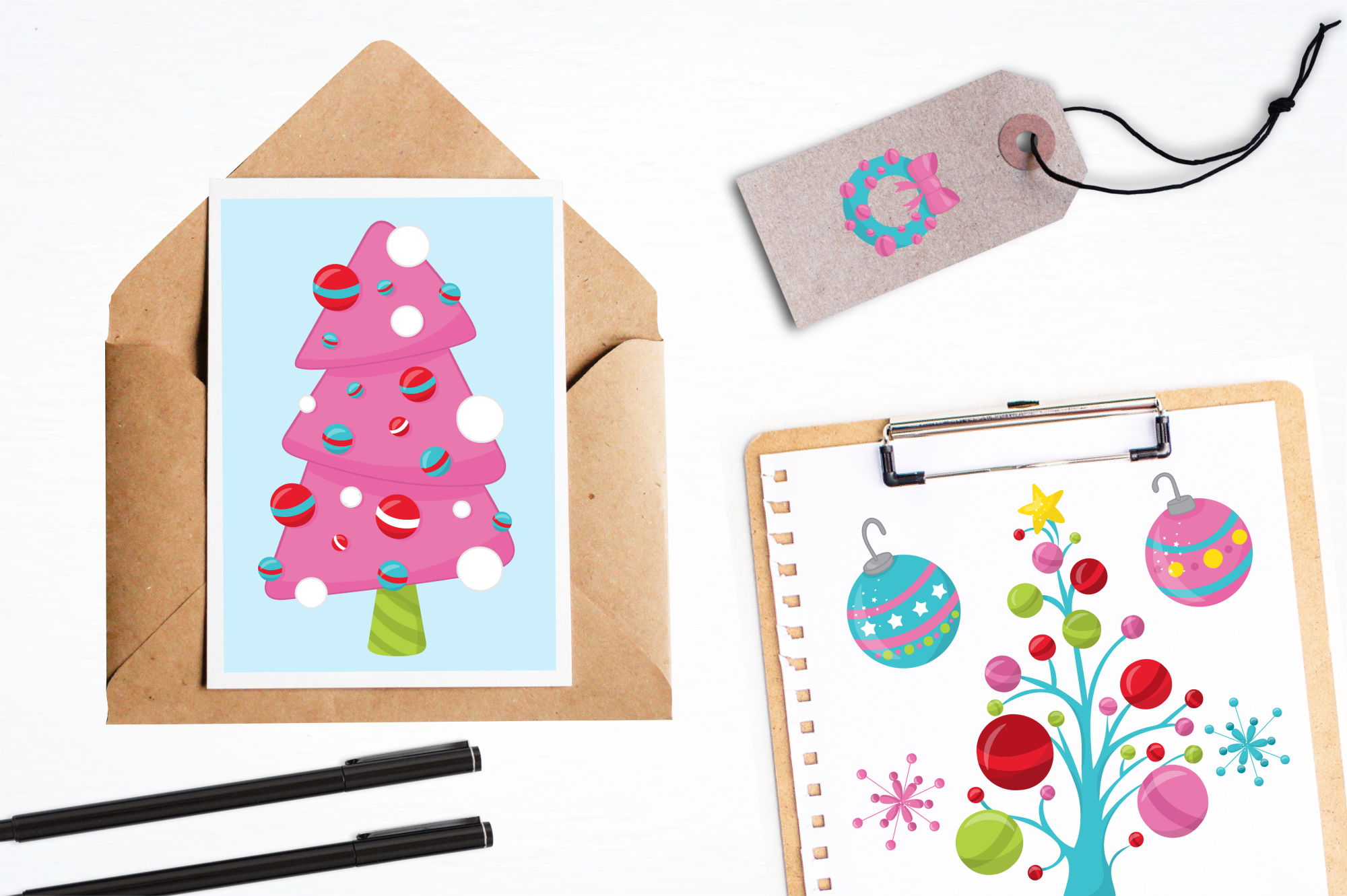 Christmas Décor graphics and illustrations example image 4