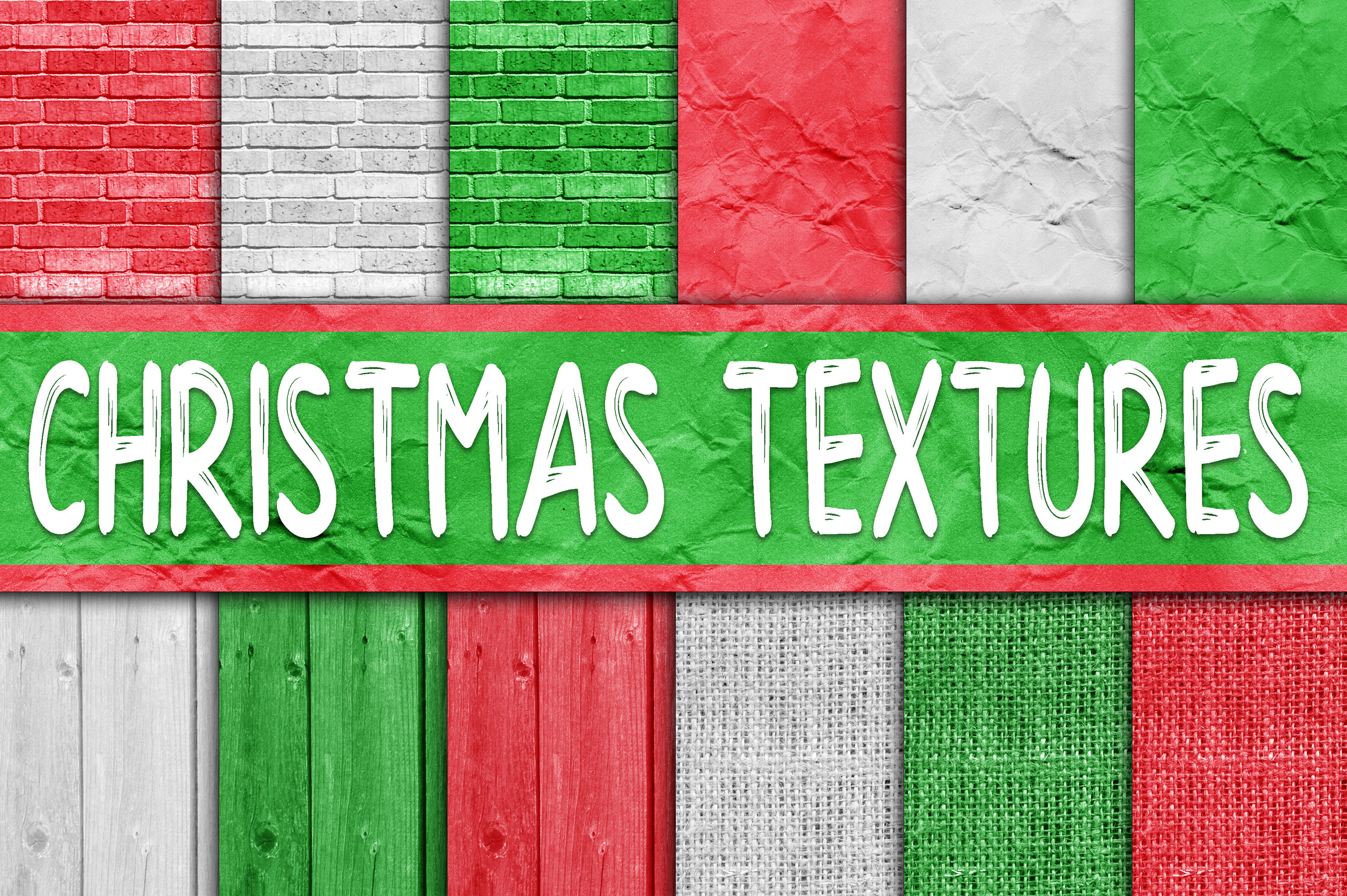 Christmas Bundle - Includes Over 200 Digital Papers example image 9