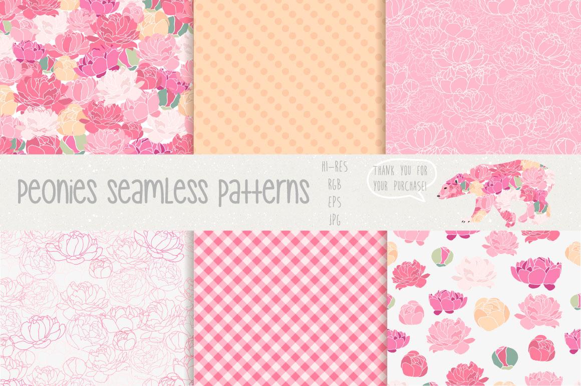 Flower Peonies example image 5