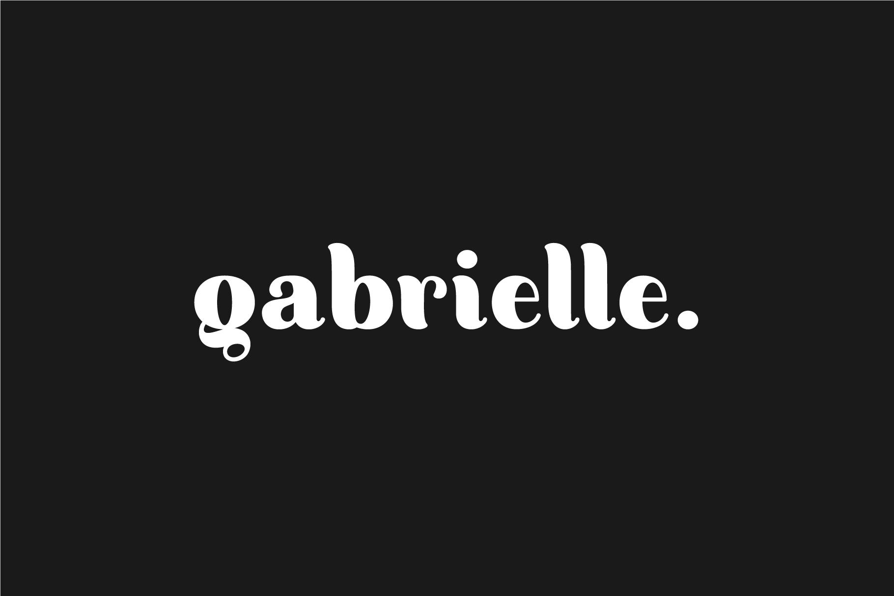 Gabrielle. Sans serif family example image 1