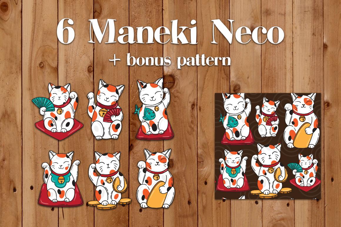 Lucky cats Maneki Neco example image 2