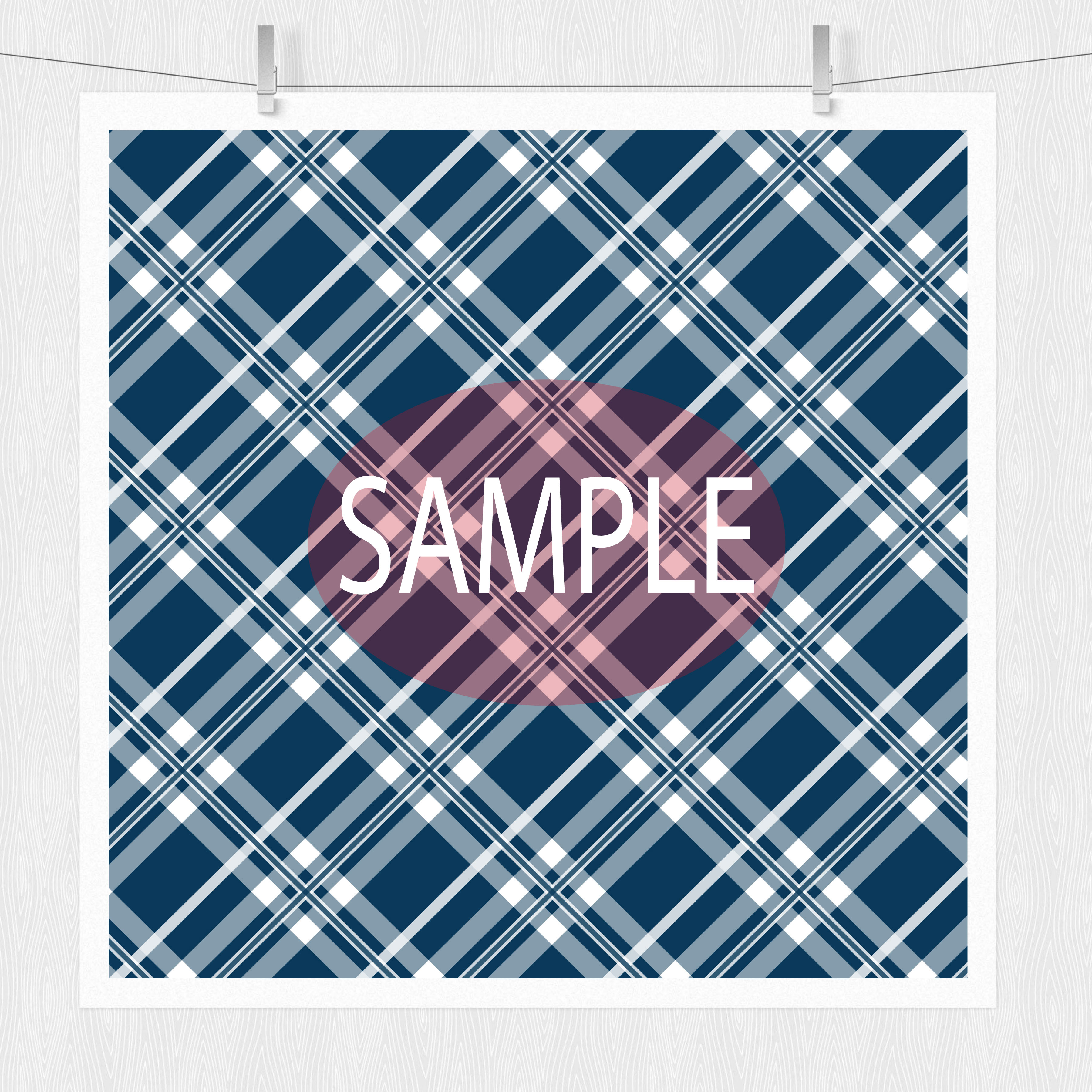 Red White and Blue Plaid Patterns example image 5