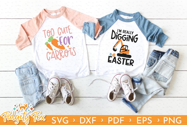 Cute Easter SVG Bundle, 18 original designs for Easter example image 7