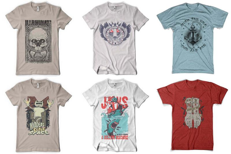 100 Premium T-shirt Designs example image 8