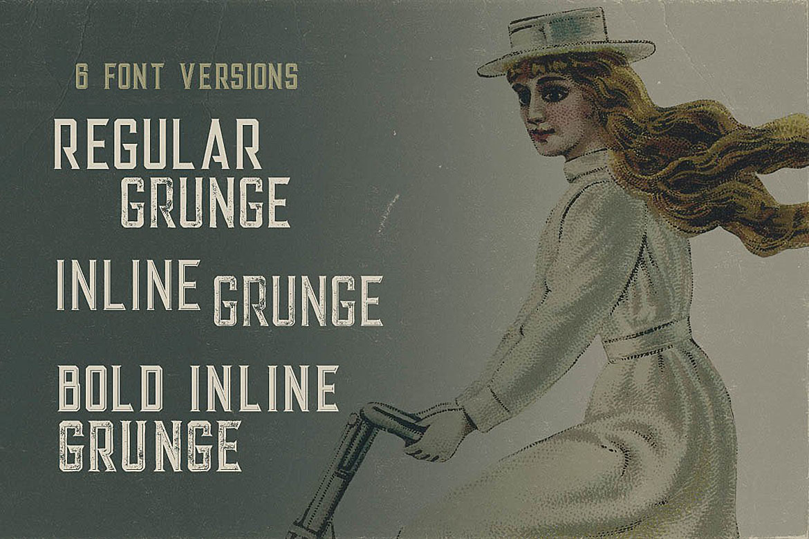 Alter - Vintage Style Font example image 2