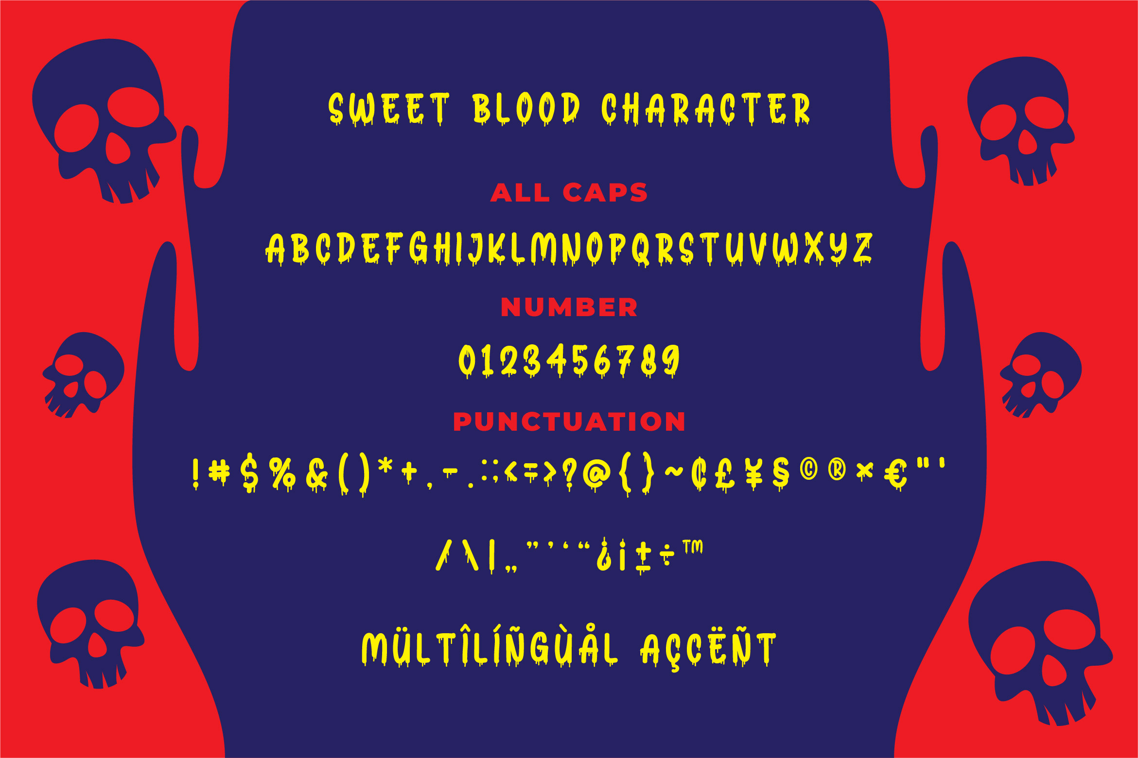 Sweet Blood - Horror Typeface example image 3