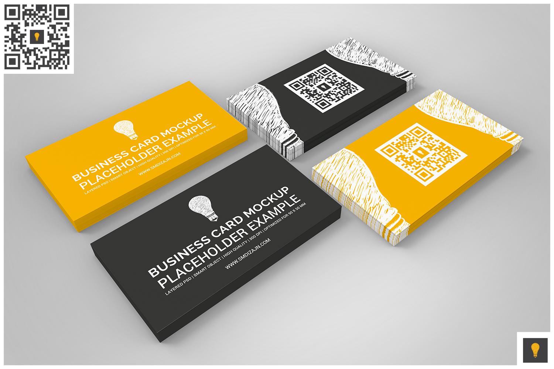 Business Card Mockup Set example image 6