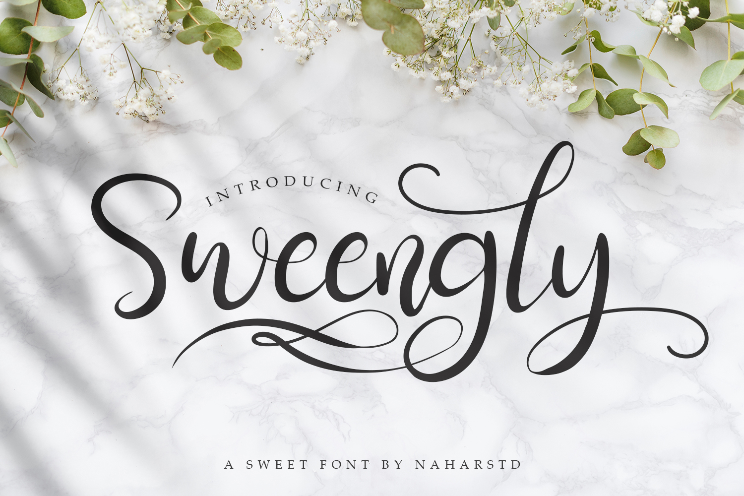 Sweengly - Sweet Script Font example image 1