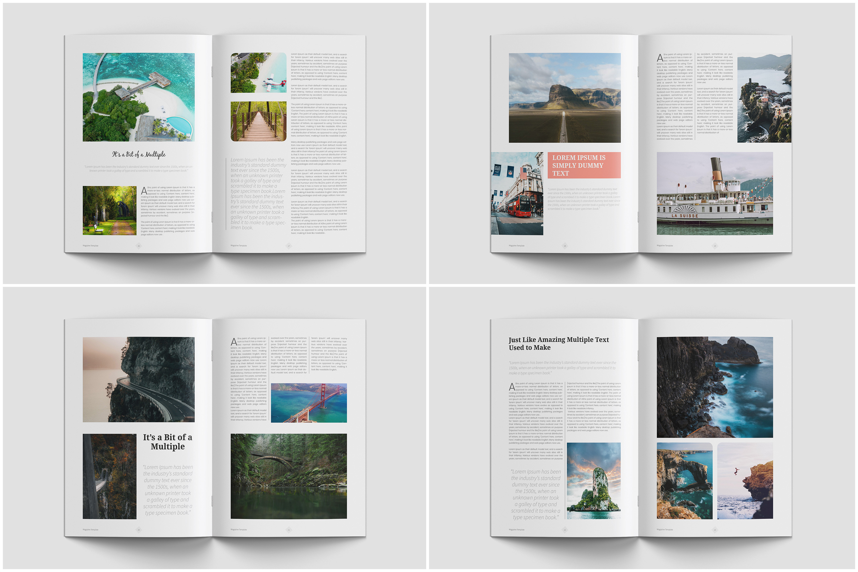 Travel Magazine Template example image 6