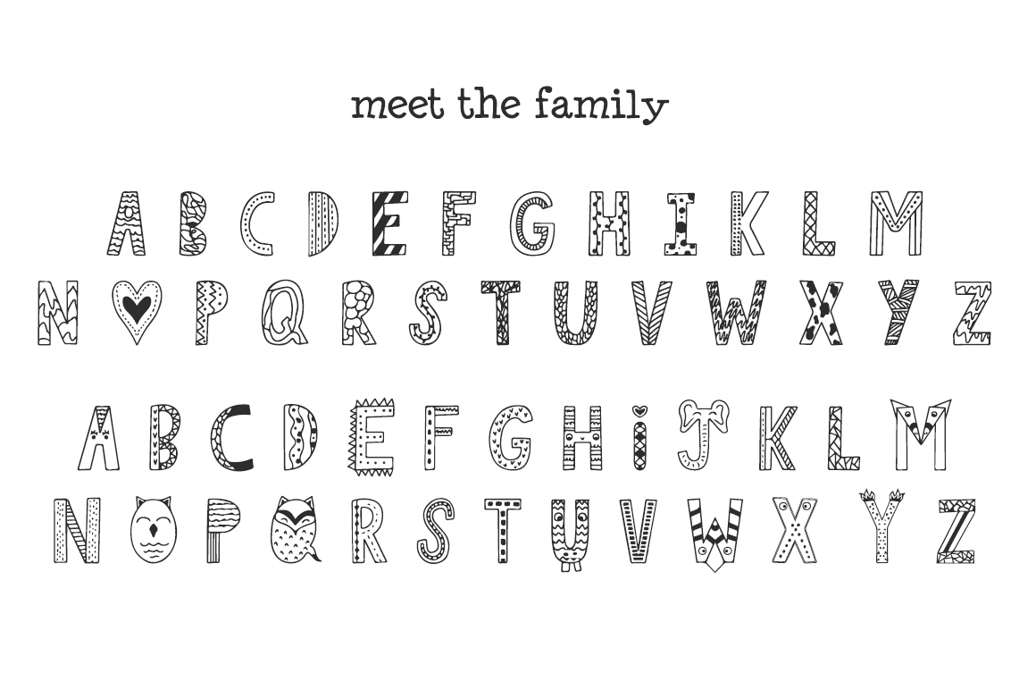Jungle Font example image 3