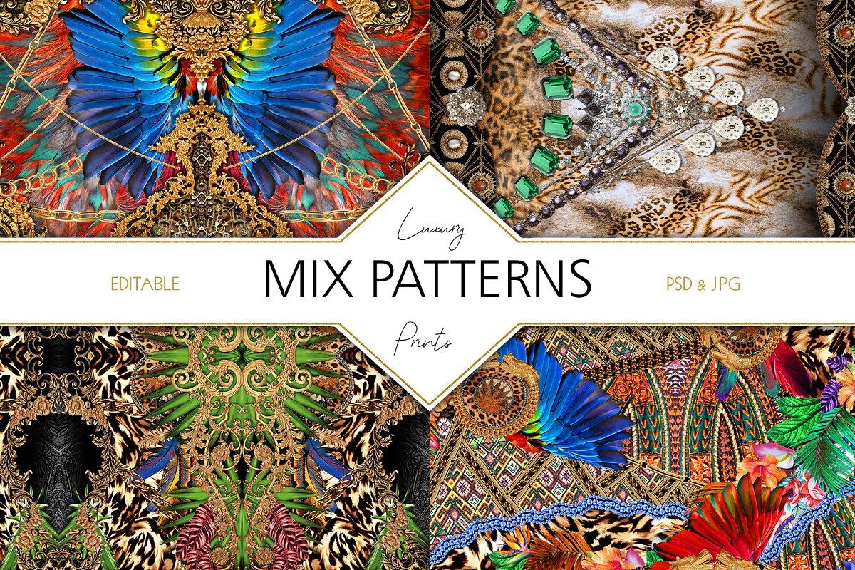 Mix Petterns Luxury example image 1