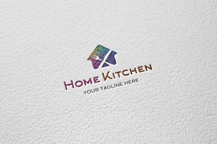 Fork & Knife cafe, Organic Food Restaurant Logo example image 3