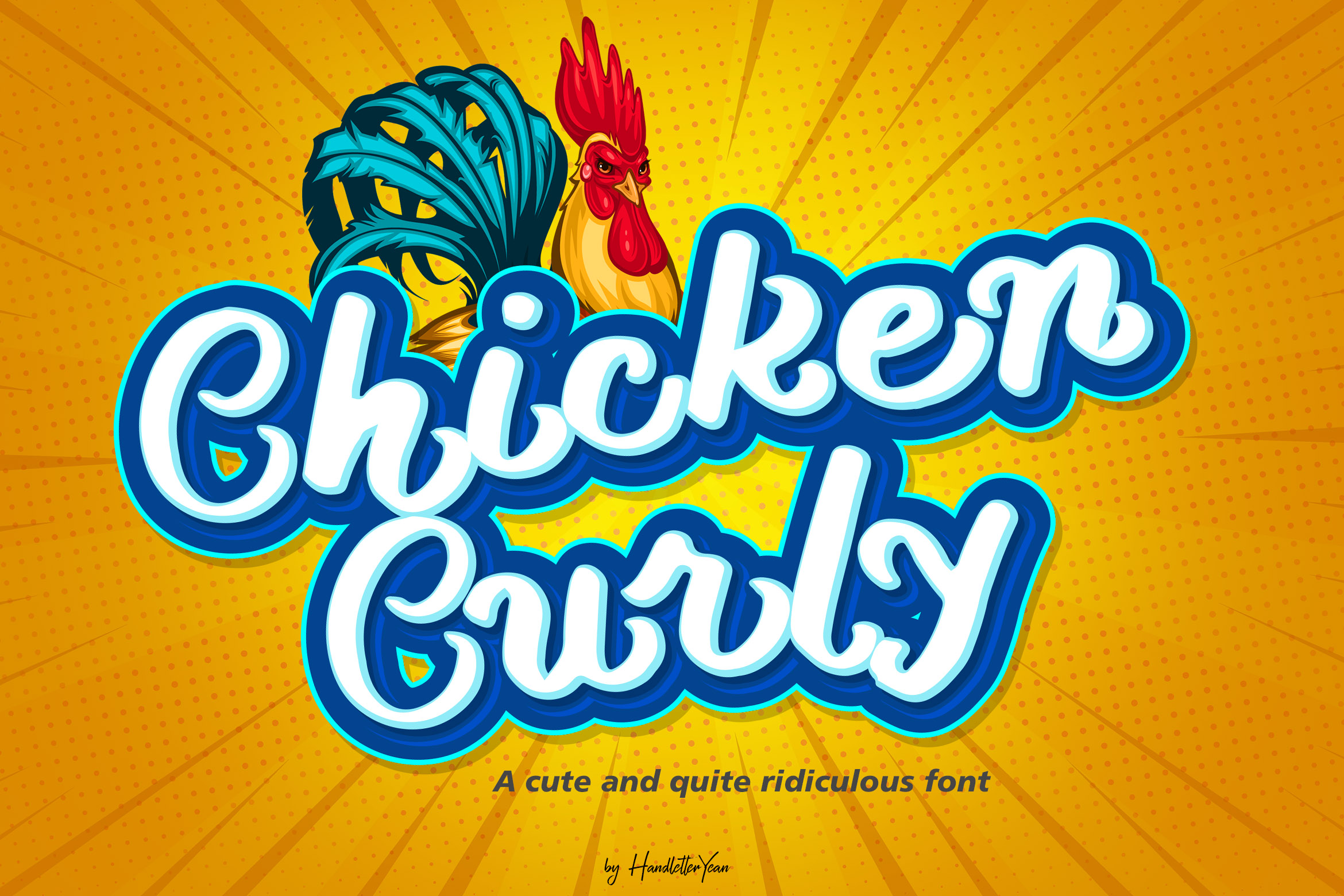 Chicken Curly example image 1