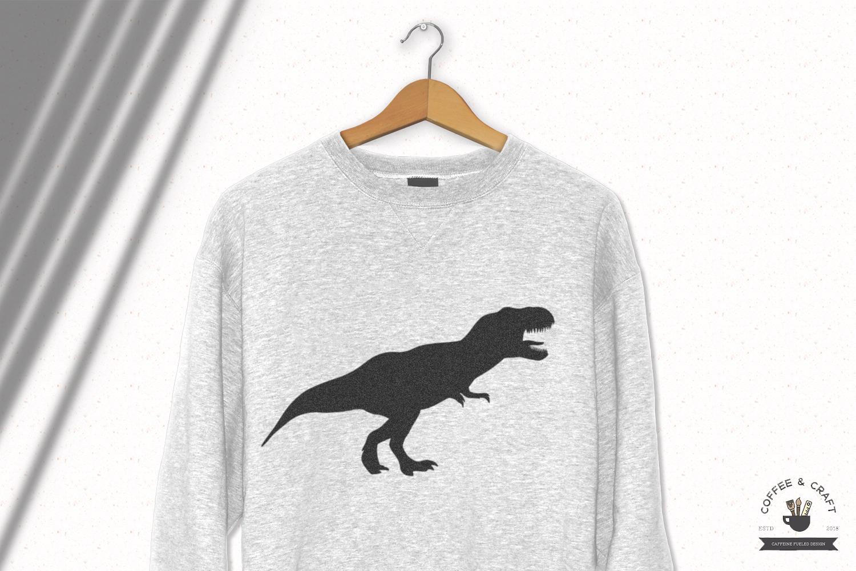 Dinosaur Silhouette set example image 3