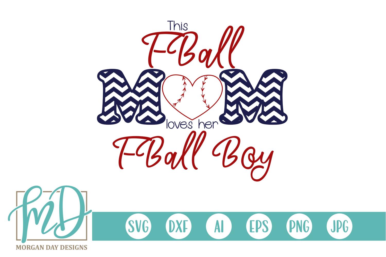 Baseball Mom - TBall - Tee Ball - T Ball Mom SVG example image 1