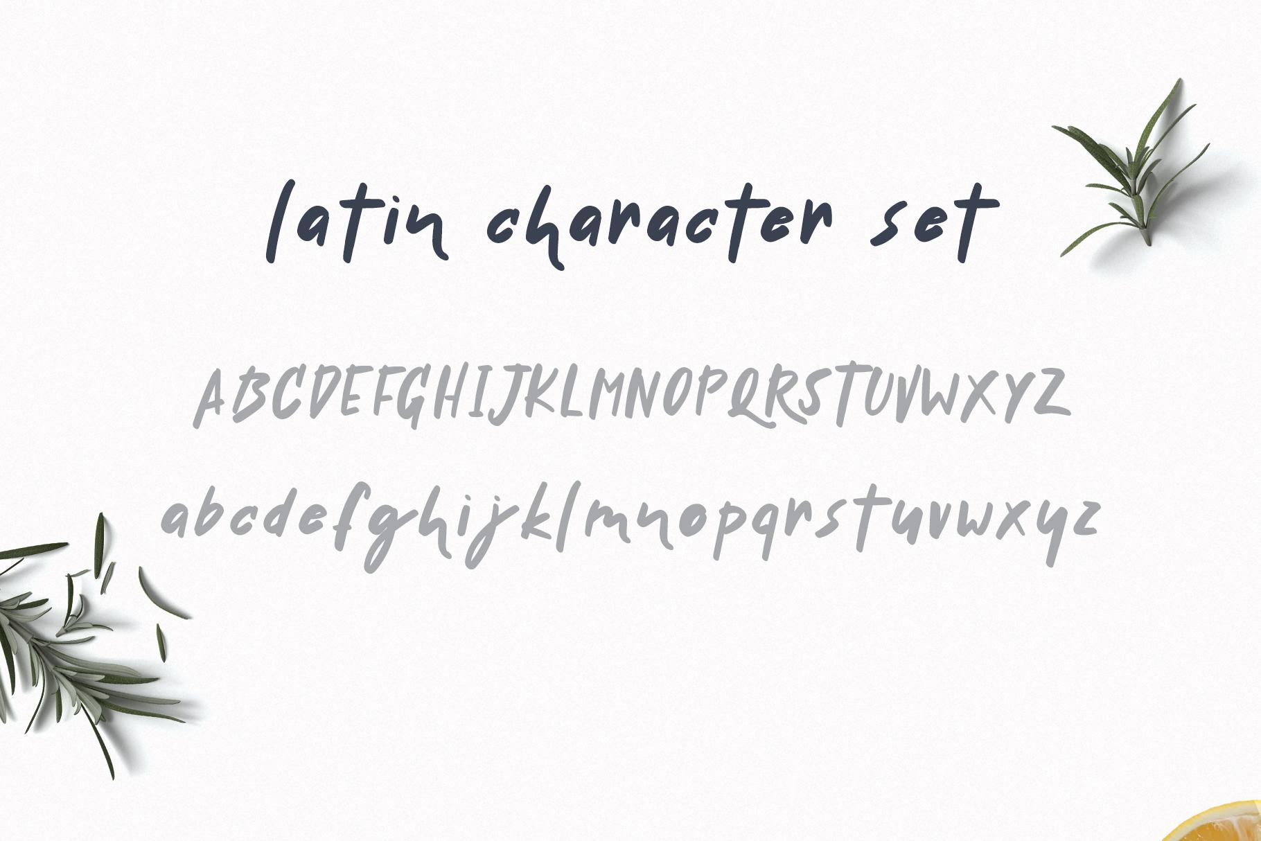 Handwritten Delicious Font Tavernaki example image 4
