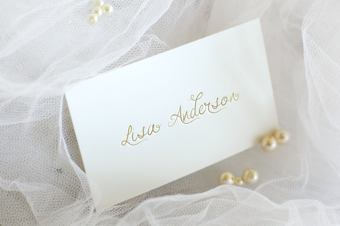 Alamanda Calligraphy Font - wedding font example image 2