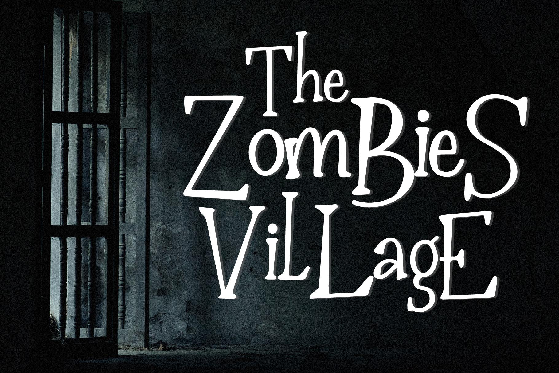 The Nightmare - Creepy Serif Font example image 2