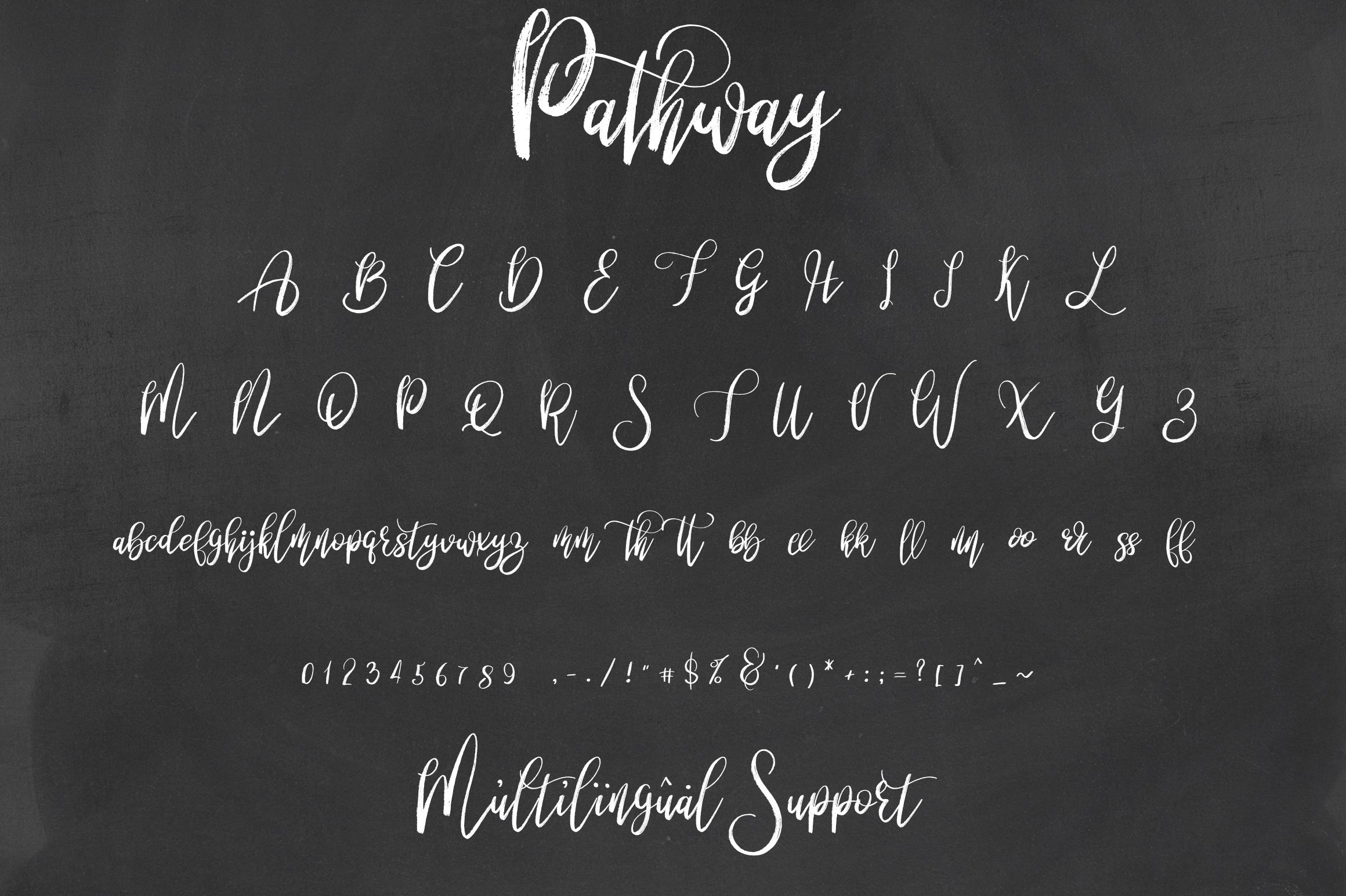 Pathway script - 2 styles example image 7
