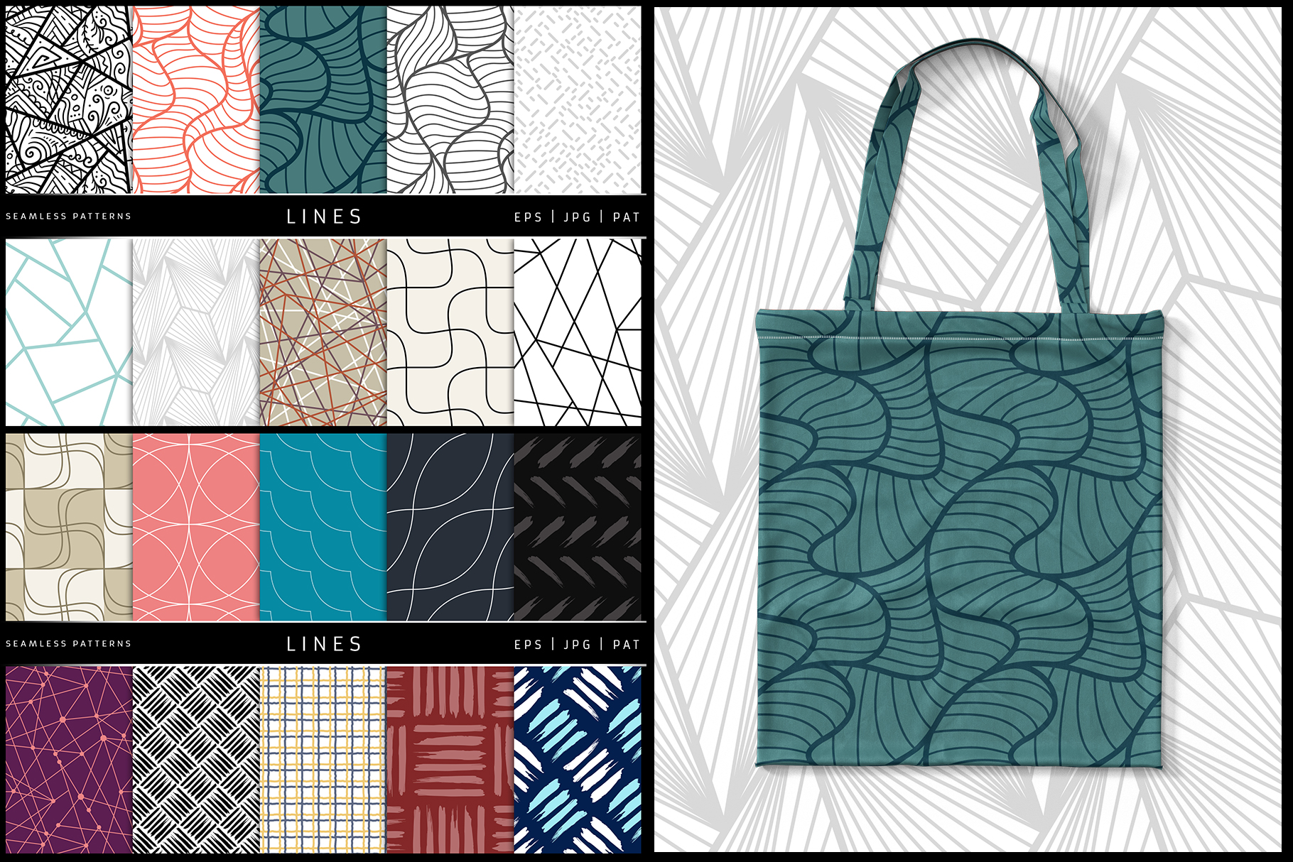 100 Seamless Patterns Vol.1 example image 10