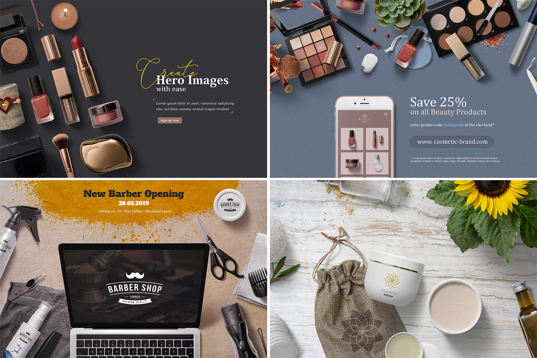 Beauty & Cosmetics Scene Generator example image 4