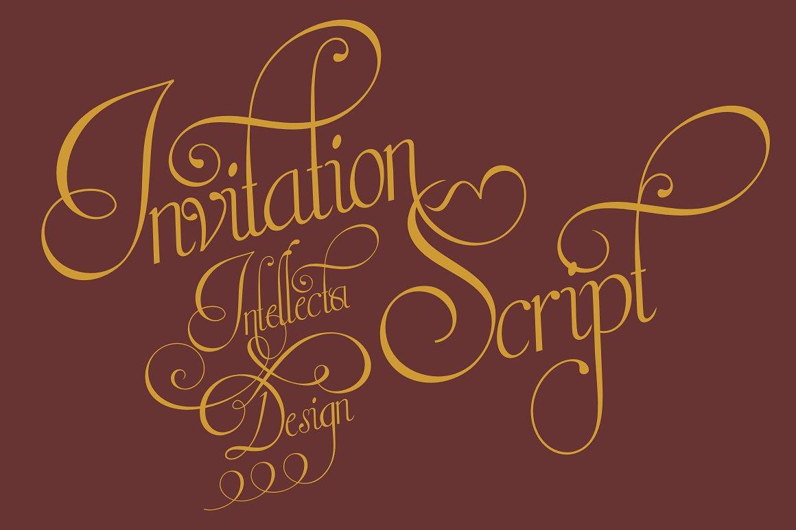 Invitation Script example image 1