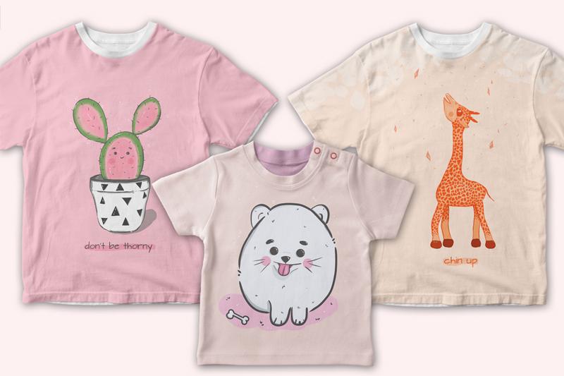 cute illustrations set example image 6