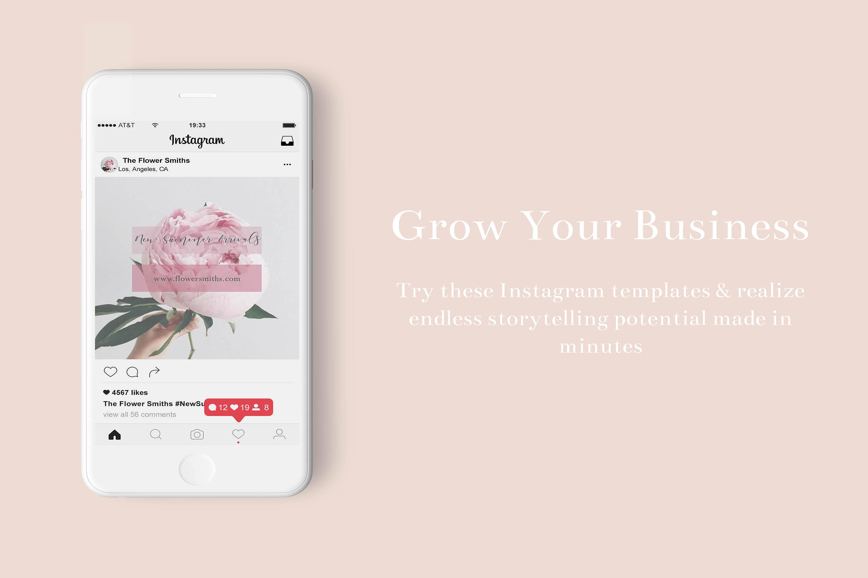 Social Media Templates/ Social Media Ads, Instagram Template example image 2