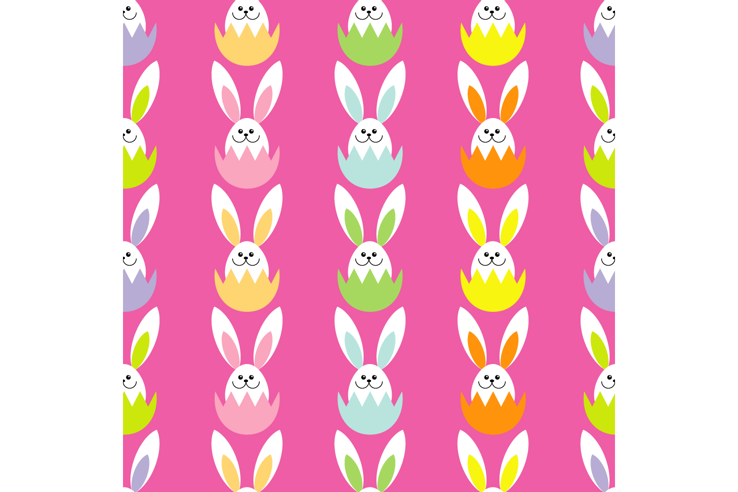 Easter ornament. Set of 7 seamless patterns. example image 5