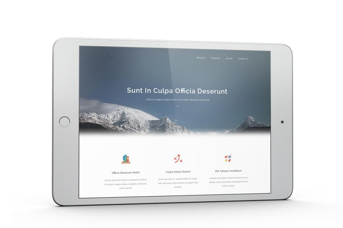 iPad Mini 4 Mockup example image 8