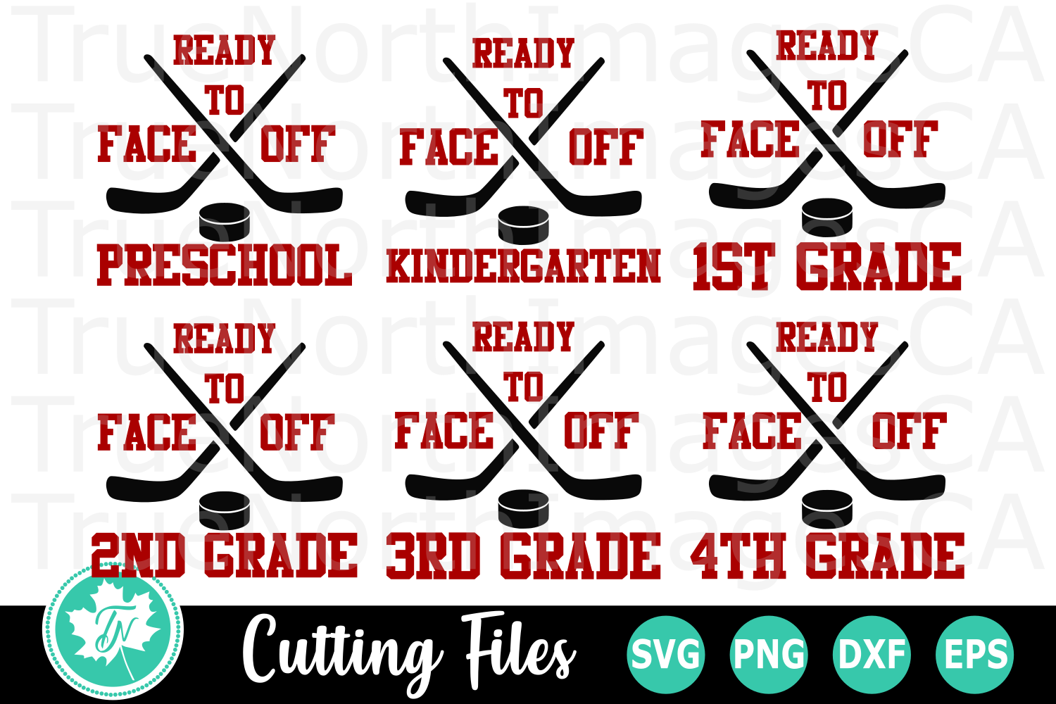 Ready to Face off School - A School SVG Cut File Bundle example image 1