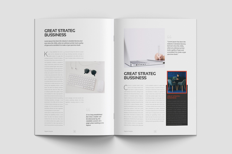 Fantasy Magazine Template example image 3
