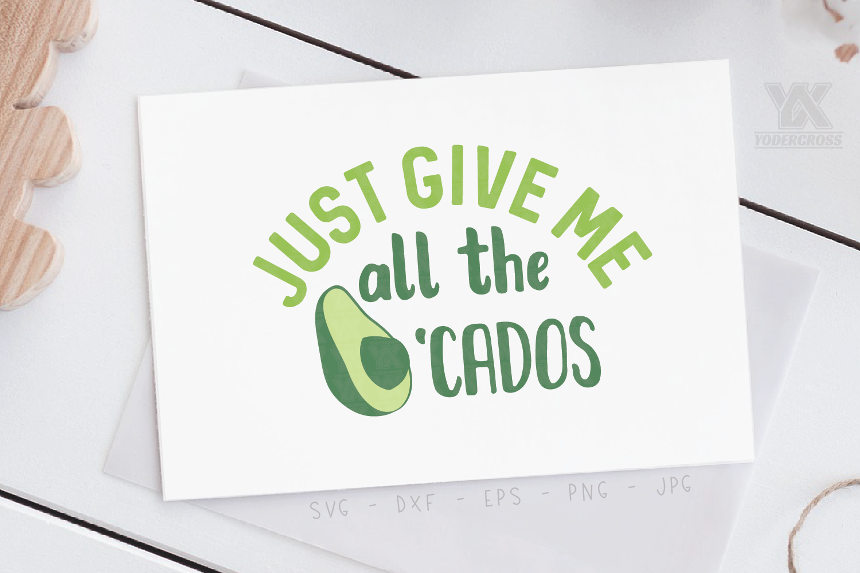 Avocado SVG example image 3
