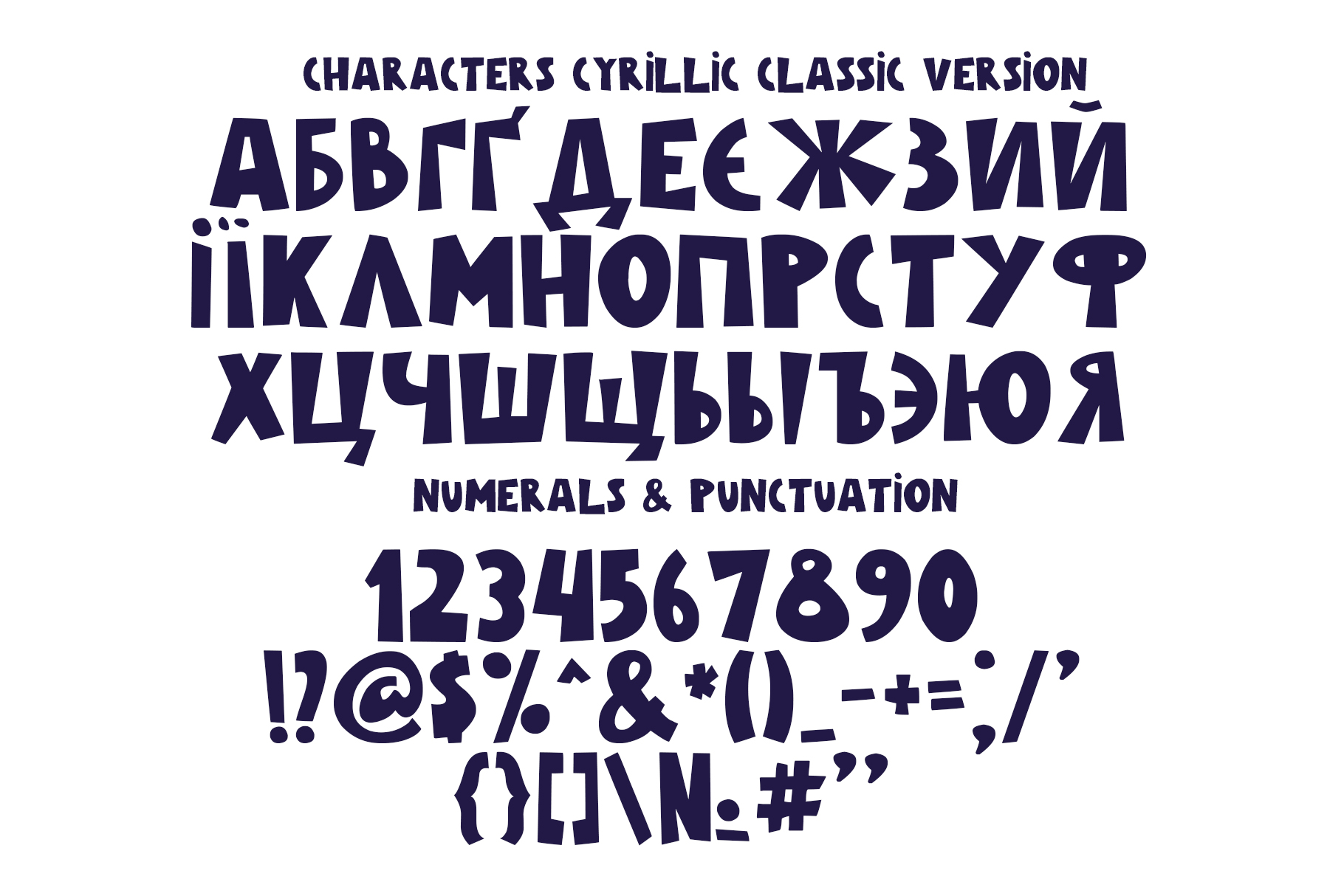 Galaxy Color Bitmap Font example image 7