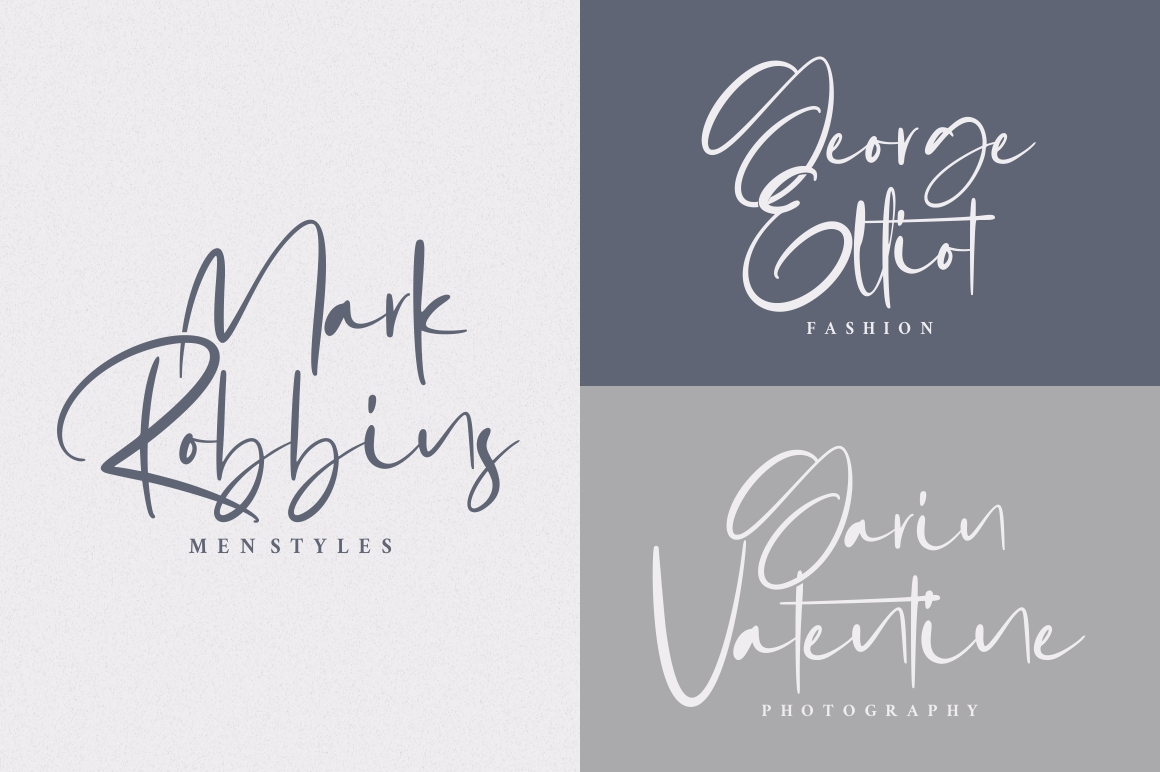 Gabrialle - Casual Script Font example image 5