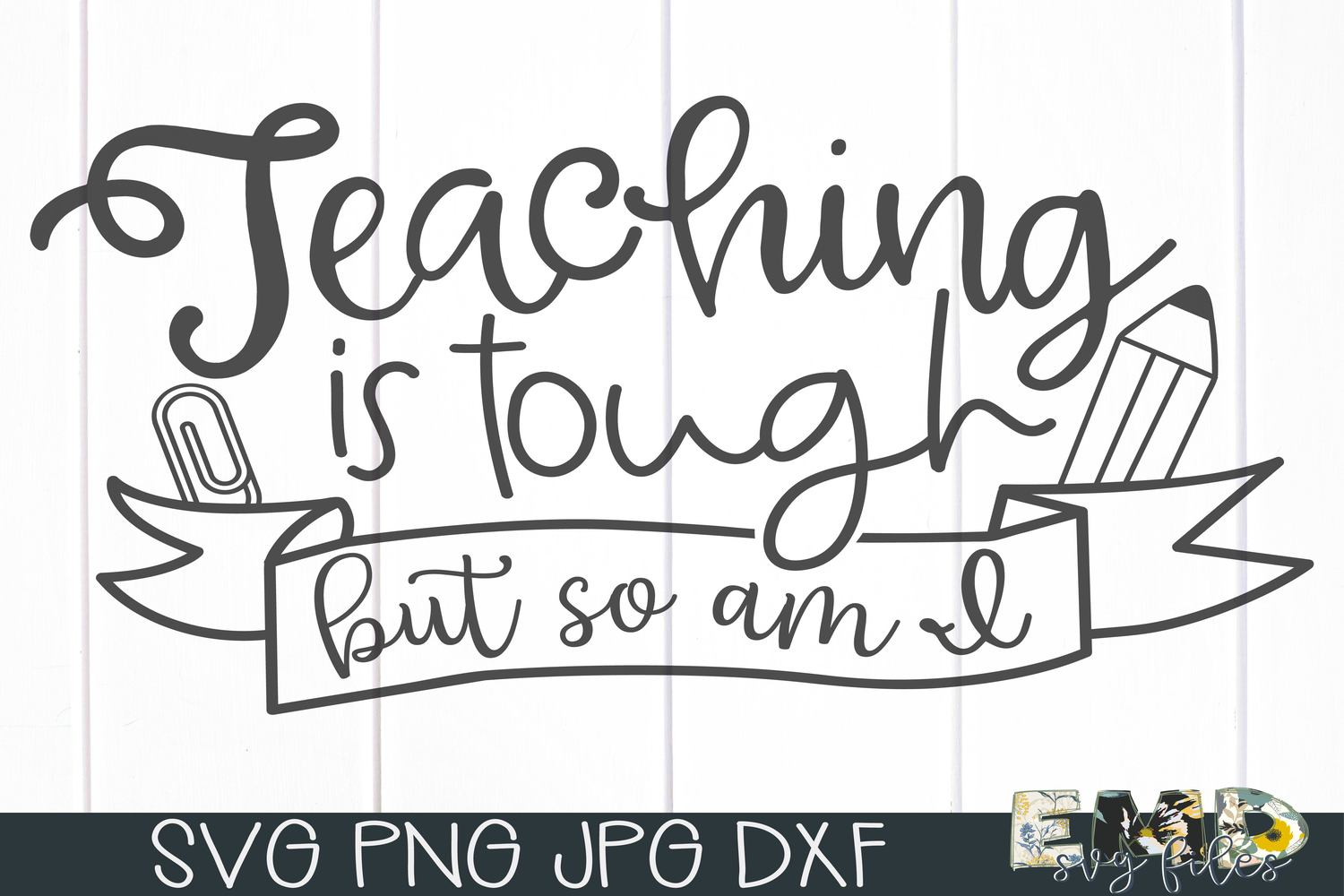 Teaching Svg File | Back To School Svg example image 1