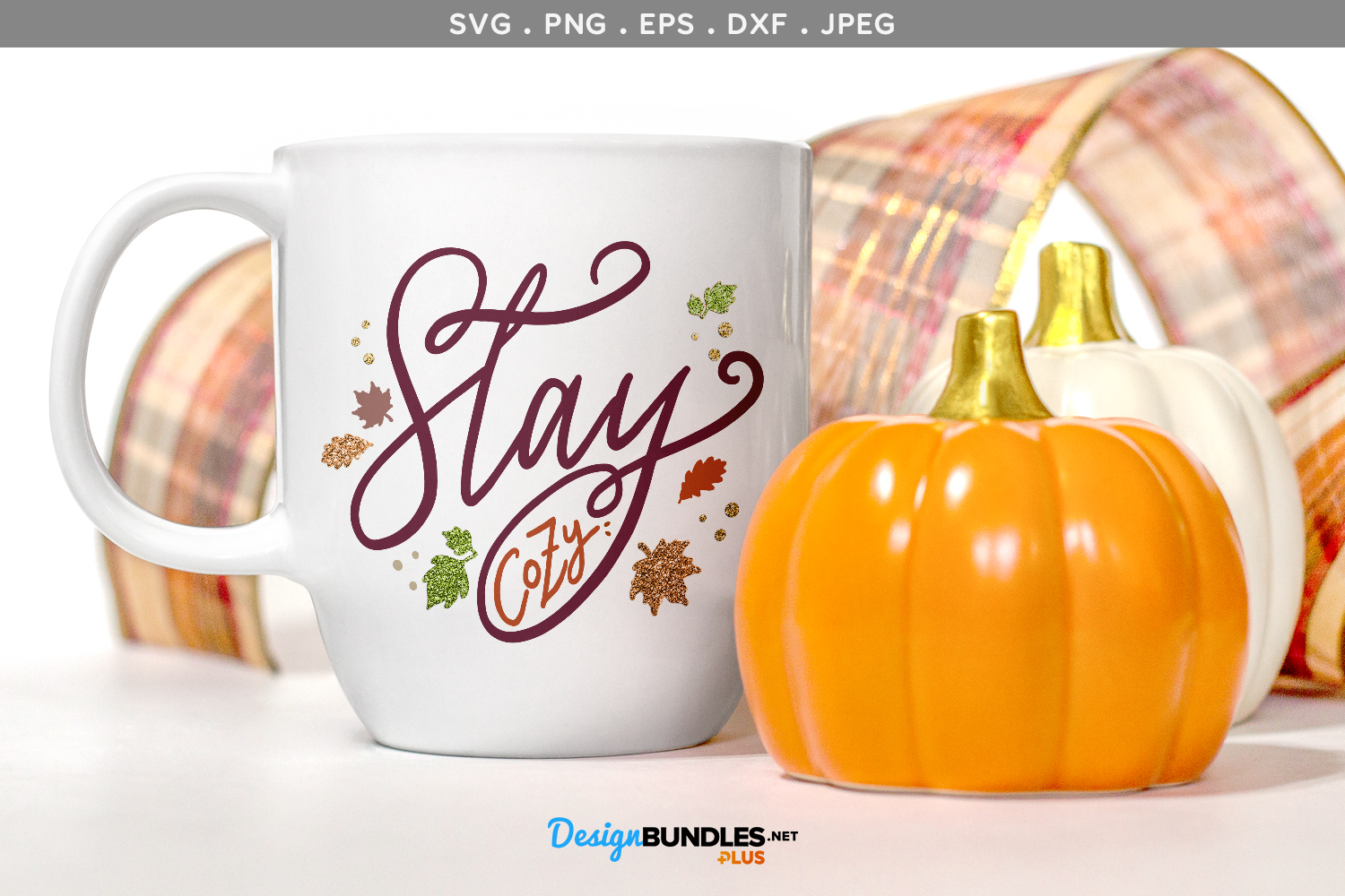 Stay Cozy - svg, printable example image 1