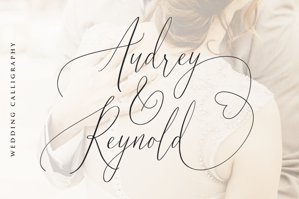 Audrey & Reynold - Luxury Script example image 12