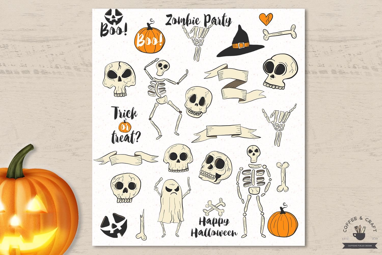 Halloween Skeletons example image 2