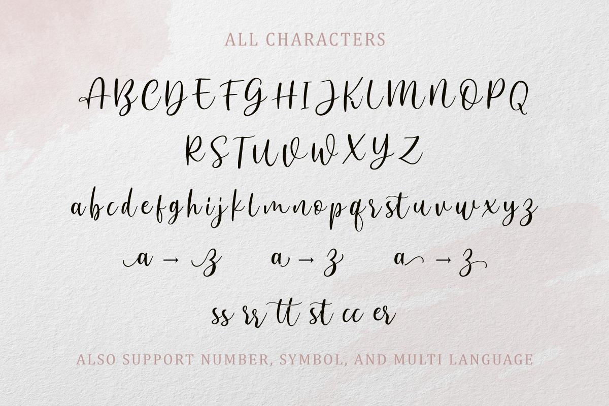 Anjani Script Modern Calligraphy example image 11